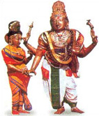 Sri Kalyanasundaranar and Kokilaambal in Marriage